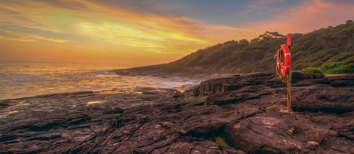 Sunrise on NSW South Coast