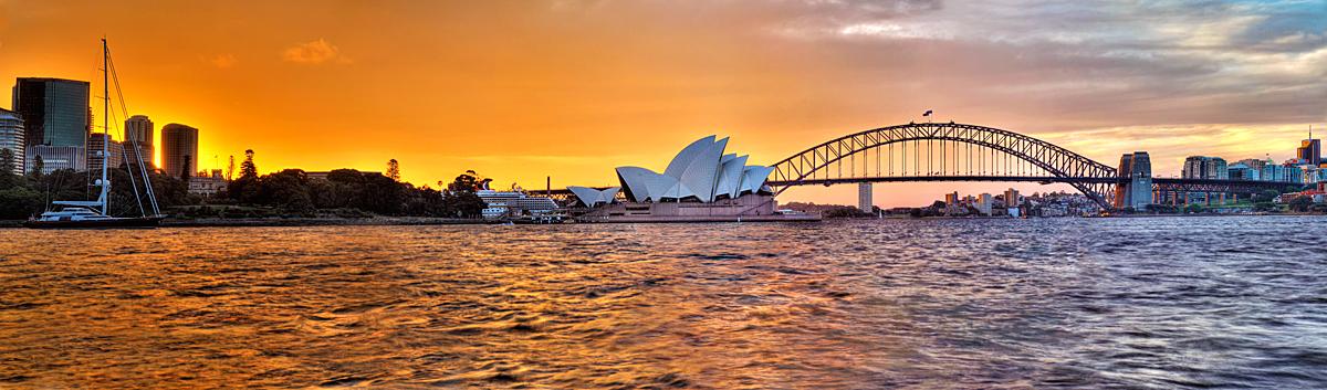 Resultado de imagem para Sydney sunset