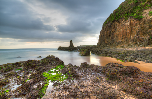 Sunrise at Cathedral rock, Kiama, NSW, Australia
