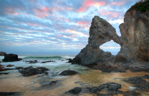 Sunrise at Australia Rock, Narooma.