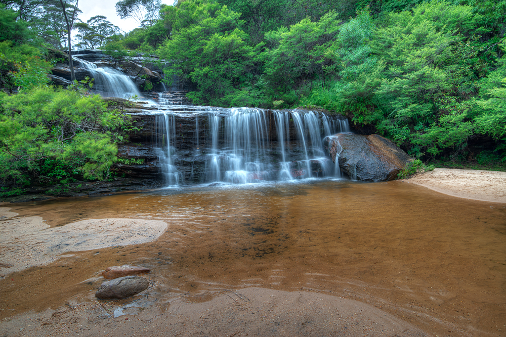 The top of Wentworth Falls, Blue Mountains Australia