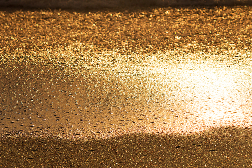 The Golden sands of Australia taken at Bronte Beach early morning sun