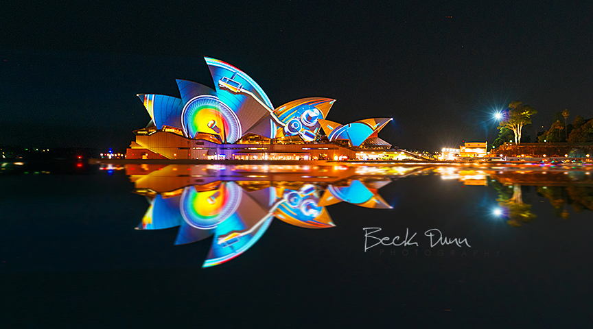Vivid Light Festival Sydney 2013. Opera House
