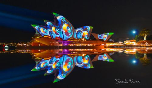 Sydney Vivid Light Festival 2013 Opera House Australia